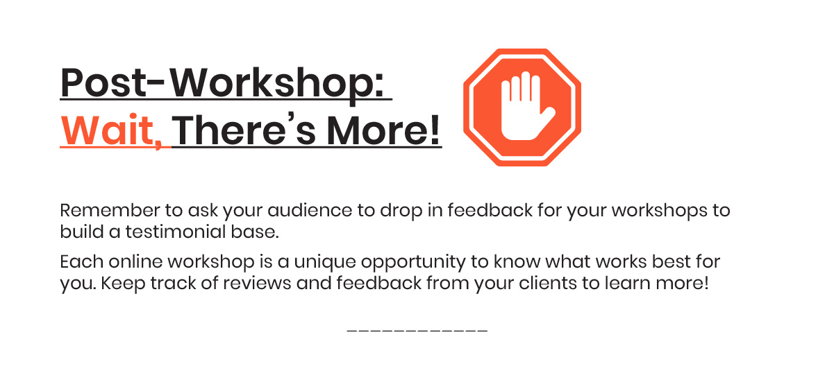 How to Conduct Online Workshops